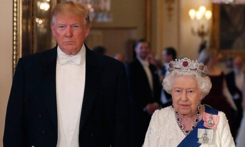 President Donald Trump Queen Elizabeth Barack Obama