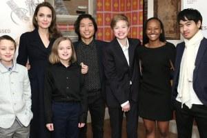 Angelina Jolie Brad Pitt Children Photos Joe Biden Ad