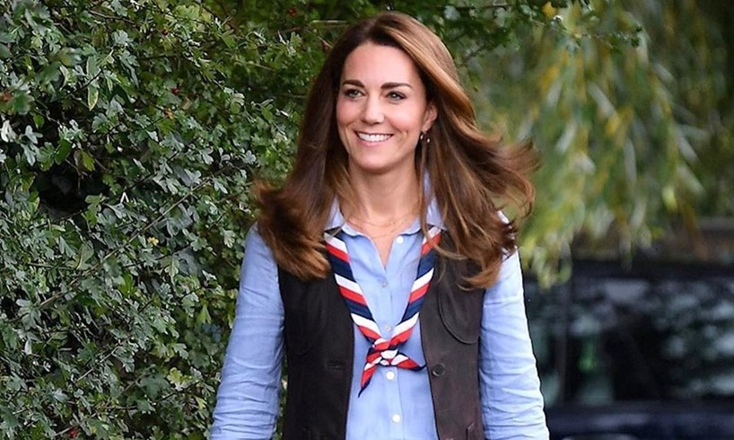 Kate Middleton Prince William Joint President Of The Scout Association