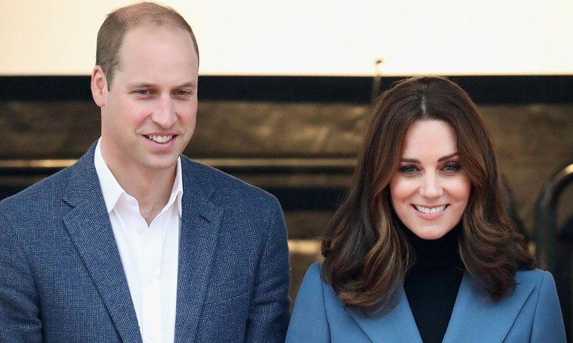 Prince William Kate Middleton Imperial School London