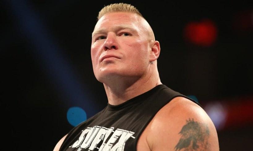 Brock Lesnar WWE Star New Look