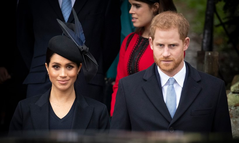 Meghan Markle Prince Harry Holiday Spirit