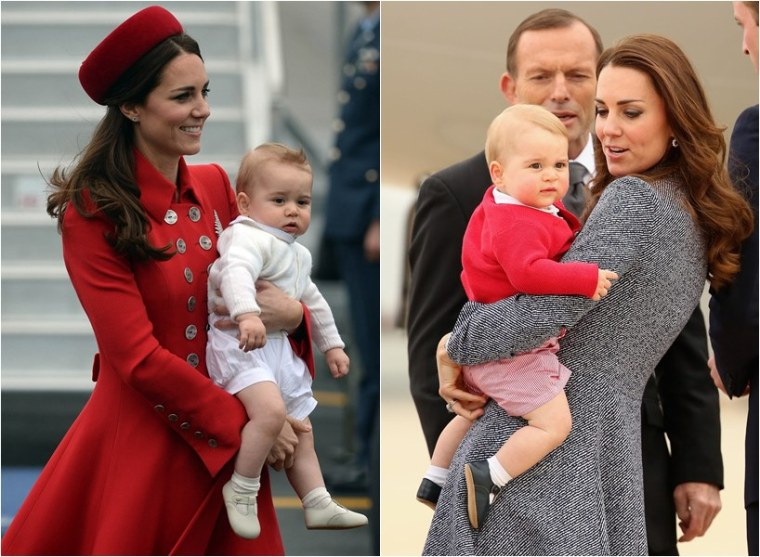 Kate Middleton Prince George Harry Meghan Markle Together Photos
