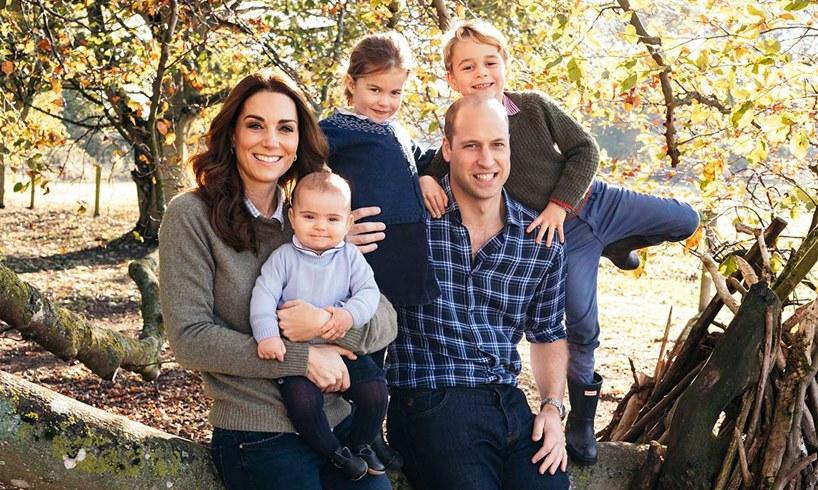 Kate Middleton Prince William Their Children