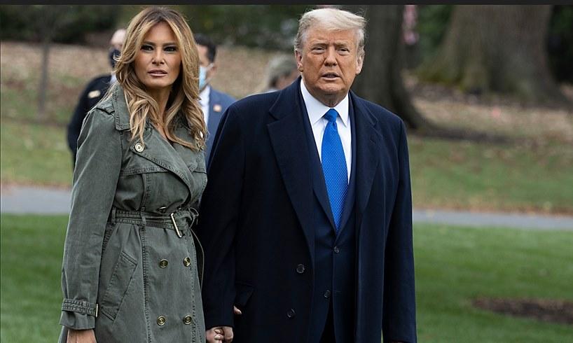 Melania Trump President Donald Florida