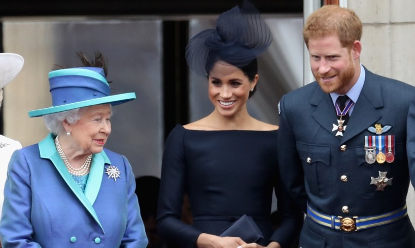 Queen Elizabeth Meghan Markle Prince Harry Christmas The Firm