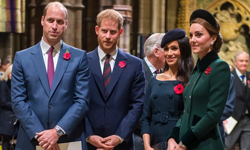 Prince William Harry Meghan Markle Catherine Duchess Of Cambridge