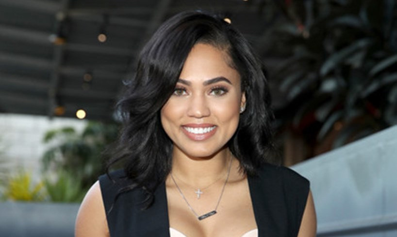 Ayesha Curry Floral Photo With Husband Steph