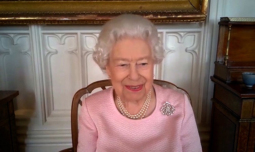 Queen Elizabeth Corgi Puppies Prince Philip Harry Meghan Markle Oprah Winfrey Interview