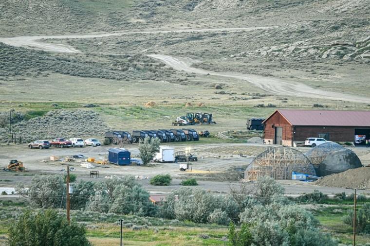Kanye West Wyoming Kim Kardashian Pictures