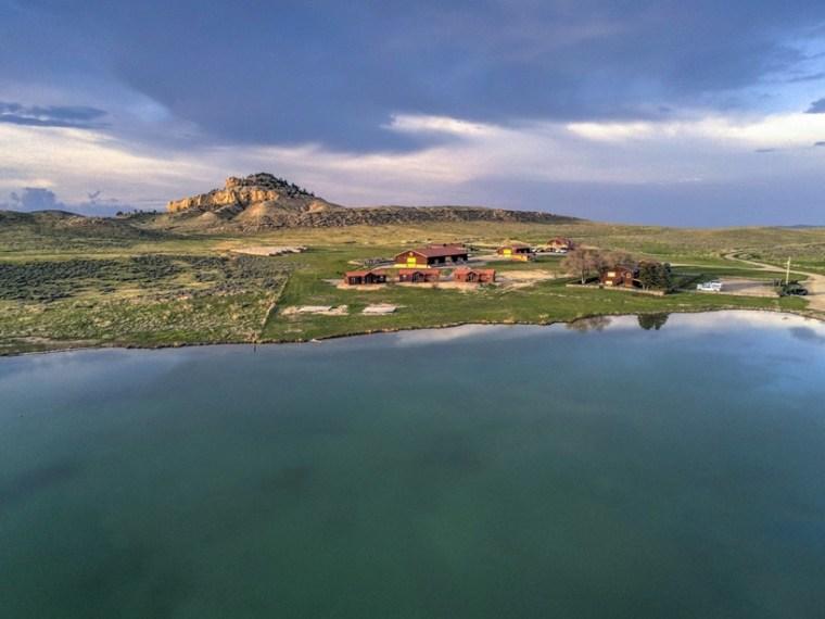 Kanye West Wyoming Ranch Kim Kardashian Photos