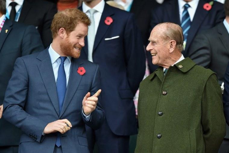 Prince Harry Philip Funeral Meghan Markle