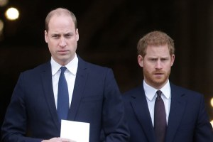 Prince William Harry Philip Funeral Making Peace
