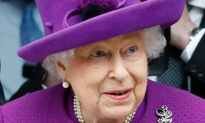 Queen Elizabeth Prince Harry Meghan Markle Olive Branch