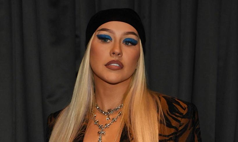 Christina Aguilera Virgin Hotels Las Vegas Photos