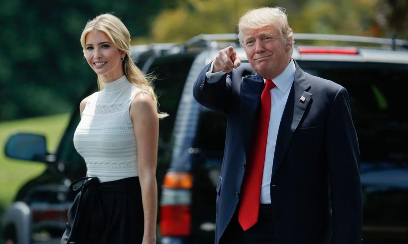 Ivanka Trump Donald Pants Backward
