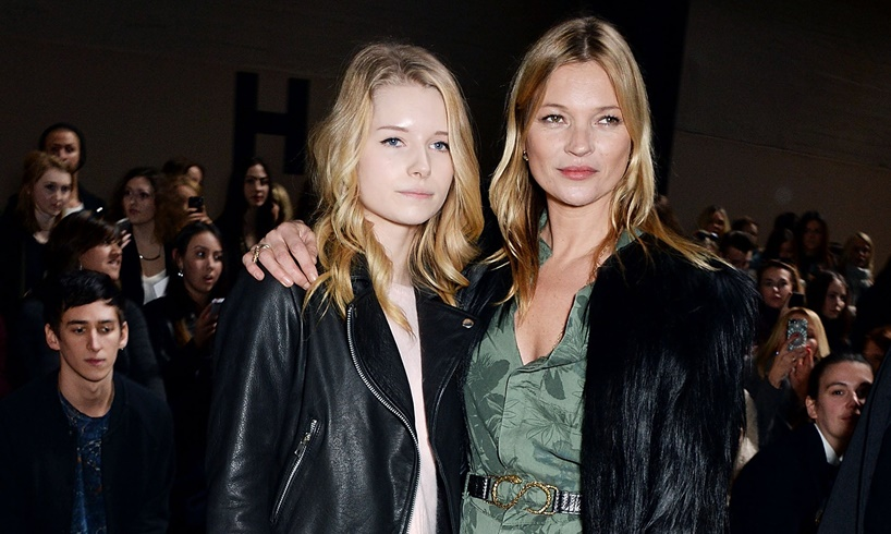 Lottie Moss Is Pictured In A Bikini In The Streets And Blames Sister Kate Moss's Comparisons For Her Shocking Career Move - US Daily Report