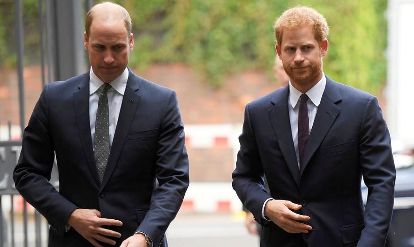 Prince William Harry Meghan Markle Feud