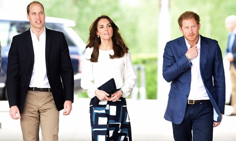 Prince William Kate Middleton Harry Meghan Markle New Baby Lilibet