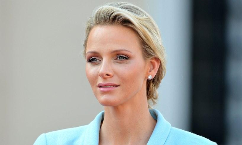 Princess Charlene New Shorter Hairdo Prince Albert Of Monaco Wife