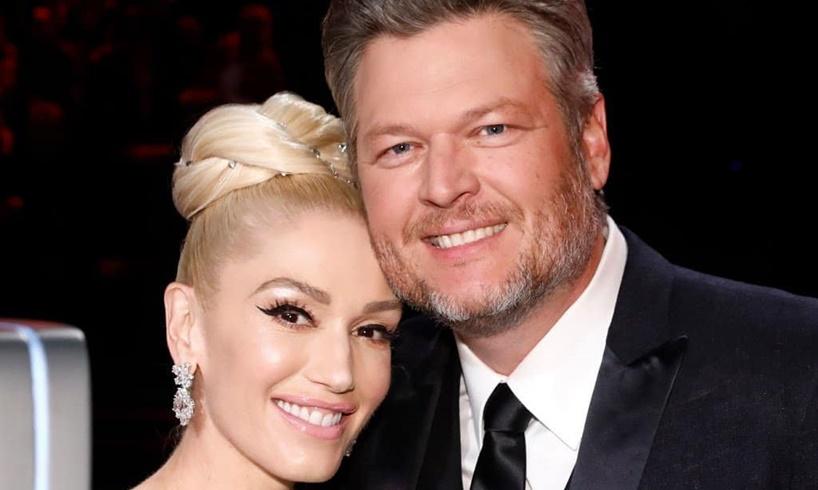 Gwen Stefani Blake Shelton Married