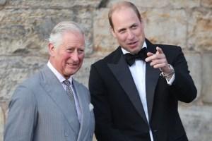 Prince Charles William Kate Middleton Buckingham Palace