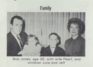 A Jones family photo from an election brochure.
