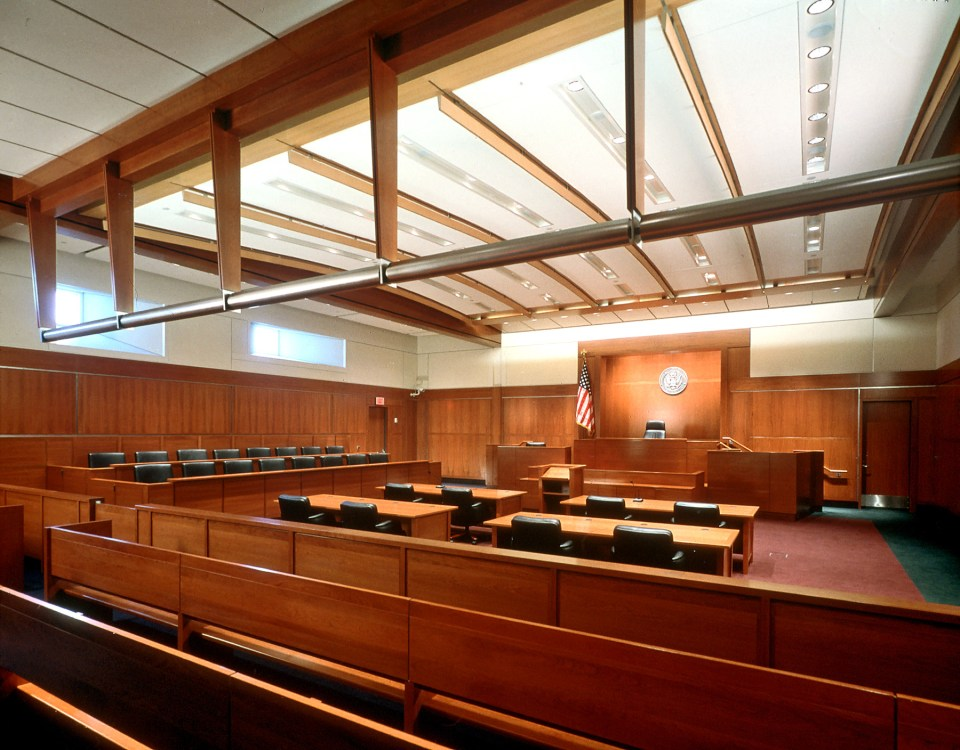 Hatfield Courthouse Courtroom