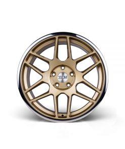 3SDM wheels 0.09 Gold Polished Lip