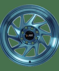 F1R wheels F07 Machined Teal
