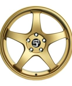 5zero wheels Z17 Rally Gold