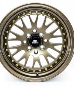 MST wheels MT10 Bronze Gold Rivets