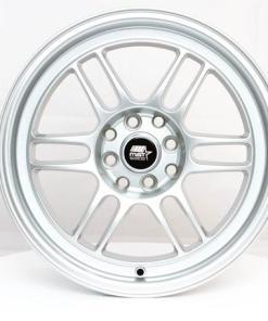 MST wheels Suzuka Space Silver