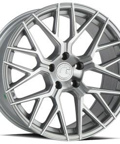 LS009 LS009 18X8 5X120 Silver Machined
