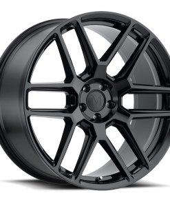 OTTO OTTO 22X10.5 5X112 Gloss Black