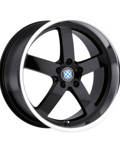 RAPP RAPP 22X10.5 5X120 Gloss Black Mirror Cut Lip
