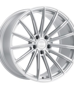 LONDON LONDON 22X10.5 5X120 Silver Brushed Face