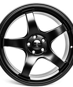 CR CR 18X9.5 5X114.3 Matte Black
