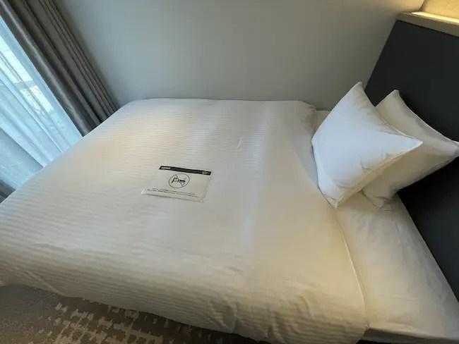 STATION WORK ホテルメッツ横浜・客室 ベッド