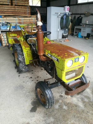 YANMAR YM1300S 02389 used compact tractor |KHS japan