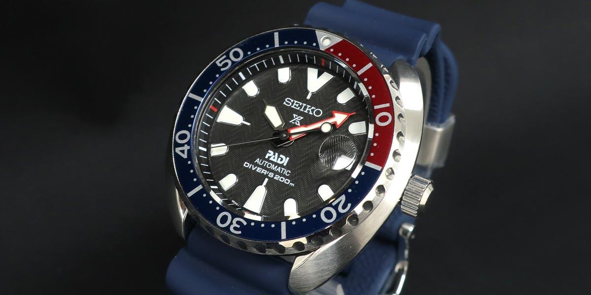SEIKO セイコー PROSPEX Diver's プロスペックスダイバーズ SRPC41K1 PADEコラボ ペプシミニタートル