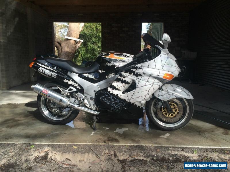 Kawasaki Zzr 1100 1995 Custom Paint Long Reg Recent Rwc Not Harley Cafe Racer For