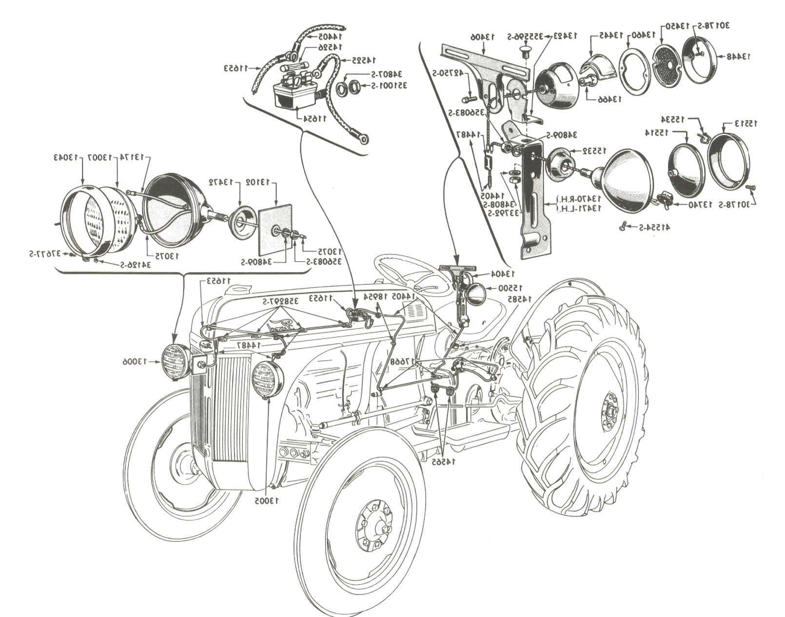 8n Ford Tractor Parts For Sale