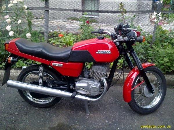 Продажа 1989 ЯВА 350 в Донецке Дорожный мотоцикл Купить