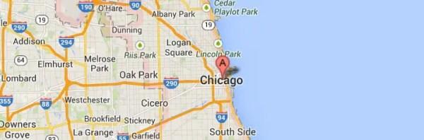 Chicago IL Map