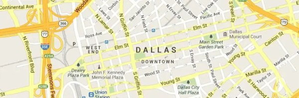 Dallas TX Map