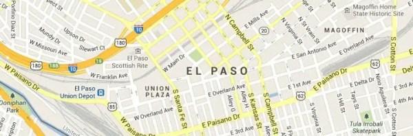El-Paso-Texas-Map