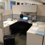 Used Allsteel 6×6 and 8×6 cubicles