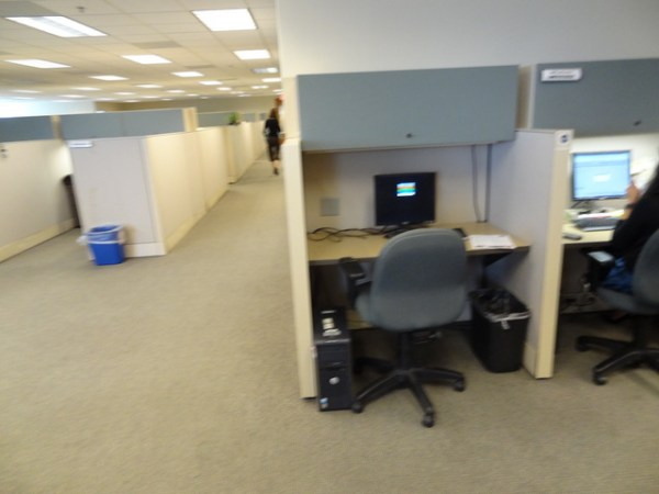 Used Herman Miller Q Workstations 6x6 and 6x81