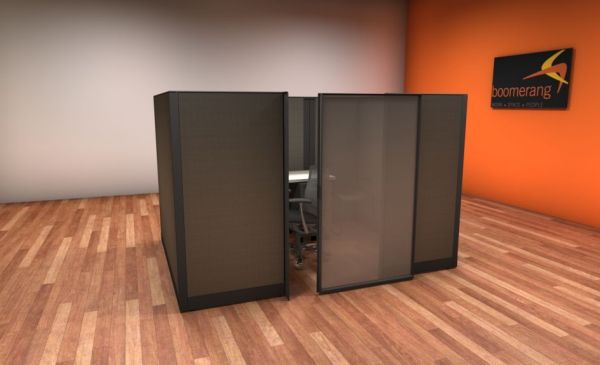Used Knoll Morrison 6x6 and 6x8 Cubicles4